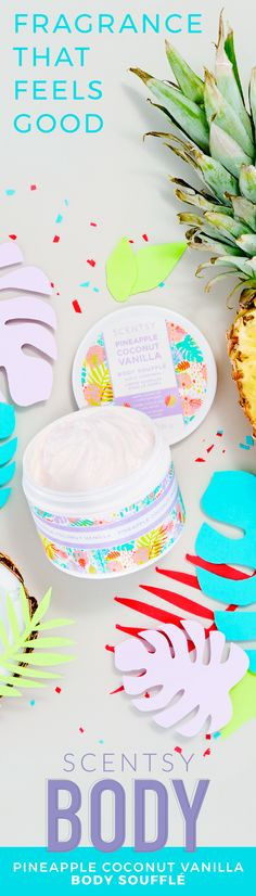 Indulge your desire for smooth, exquisitely scented skin with this decadent whipped body soufflé. Ride the wind alongside coconut, pineapple blush and blue fig.