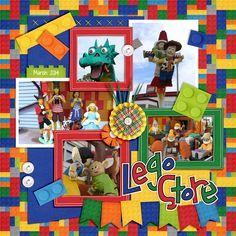 Lego Store - Scrapbook.com