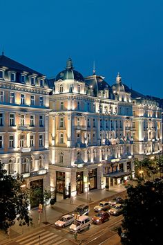 www.vanissima.hu - This French Renaissance-style hotel sits in the heart of downtown Budapest. Corinthia Hotel Budapest (Budapest, Hungary) #budapest #hotel