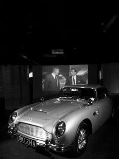 Aston Martin DB5 at the Bond in Motion exhibition at the weekend.