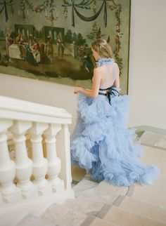 As seen on Style Me Pretty, Chateau Grand-Luce wedding photographer, Molly Carr Photography, captured this luxury two-day France destination wedding on film Bridal Gowns, Wedding Gowns, Wedding Film, Wedding Photos, Blush Gown, French Wedding, Blue Wedding, Parisian Wedding, Elegant Wedding