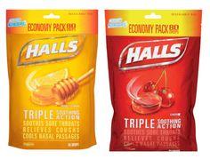 Halls Cough Drops a solo $1.88 en Walmart