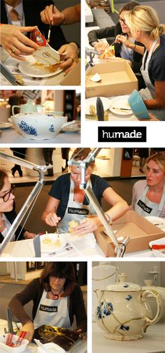 new kintsugi: a fabulous way of fixing your favorite - but broken - dish, mug or teapot (by http://www.humade.nl)