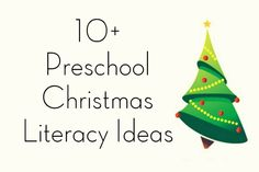 Preschool Christmas Literacy Activities & Centers