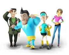 Justo Leal, SuperTeso, DebiLucho, y Eli Luigi, Mario, Fictional Characters, Hilarious, Fantasy Characters