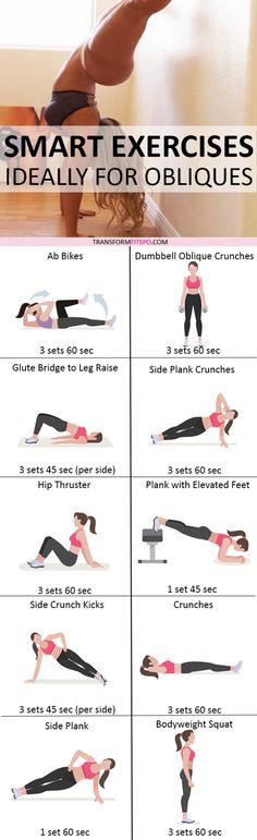 Repin and share if this circuit revealed your sexy abs and obliques! Read the post for all the workout information!