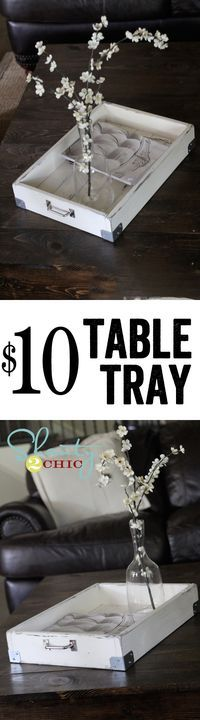 Super cute DIY Magazine Tray... So easy! These would make great gifts too!
