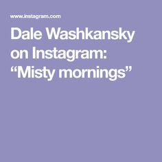 "Dale Washkansky on Instagram: ""Misty mornings"" Mornings, Instagram, Art, Art Background, Acre, Kunst, Performing Arts, Art Education Resources, Artworks"