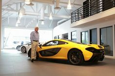 Jay Leno's McLaren P1 Delivered, First In The U.S  What A Lucky Guy. Check The Video