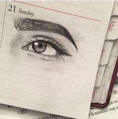 Amazing Learn To Draw Eyes Ideas. Astounding Learn To Draw Eyes Ideas. Pencil Art Drawings, Art Drawings Sketches, Realistic Drawings, Cute Drawings, Pretty Art, Art Sketchbook, Drawing People, Love Art, Art Inspo