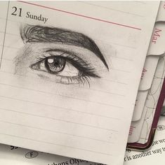 Amazing Learn To Draw Eyes Ideas. Astounding Learn To Draw Eyes Ideas. Pencil Art Drawings, Realistic Drawings, Art Drawings Sketches, Cool Drawings, Pretty Art, Art Tips, Art Sketchbook, Drawing People, Love Art