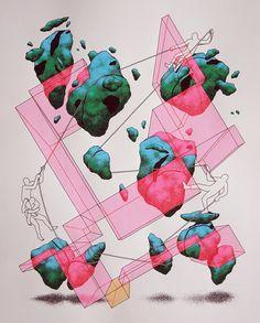 eiruvsq:   Artist & Illustrator:  Daan Botlek ... - VIRIDI MENTIS