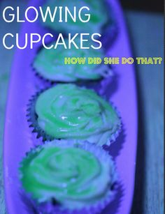 How To Make Cupcake Frosting Glow