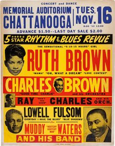 Ruth Brown, 1954....