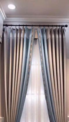 Silk Curtains, Velvet Curtains, Modern Curtains, Panel Curtains, Transom Window Treatments, Traditional Window Treatments, Curtain Designs For Bedroom, Curtain Length, Curtain Styles