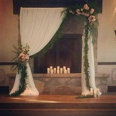 x Adjustable Heavy Duty Pipe and Drape Kit Backdrop Support with Weighted Steel Base Background Backdrop Stand Support Kit - x with Weighted Base Lilac Wedding, Wedding Flowers, Dream Wedding, Fall Wedding, Peach Weddings, Wedding Hair, Wedding Stage, Wedding Ceremony, Wedding Arches