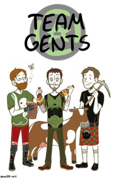 Achievement Hunters: Lads, or Gents?