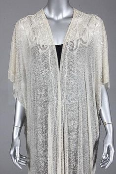 A fine beaded evening coat, early 1920s, Kerry Taylor Auctions