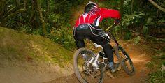 A Trilha da Saracura é muito famosa entre os praticantes de downhill, sendo utilizada como parte de circuitos nacionais e internacionais do esporte.