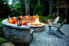 21 Amazing Outdoor Fire Pit Design Ideas 2019 Checkout our latest collection of 21 Amazing Outdoor Fire Pit Design Ideas and get inspired. The post 21 Amazing Outdoor Fire Pit Design Ideas 2019 appeared first on Patio Diy. Fire Pit Seating, Backyard Seating, Fire Pit Backyard, Backyard Landscaping, Seating Areas, Backyard Fireplace, Backyard Bbq, Outdoor Fireplaces, Garden Seating