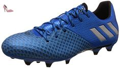 adidas Messi 16.2 FG, Chaussures de Foot Homme, Bleu-Varios Colores (Azul (Azuimp/Plamat/Negbas)), 42 2/3 EU