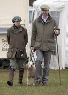 Princess Anne with husband Timothy Laurence