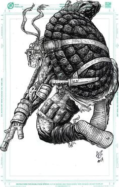 Teenage Mutant Ninja Turtles - Donatello by Allen Geneta *