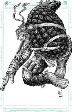 Teenage Mutant Ninja Turtles - Donatello by Allen Geneta *