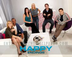 Happy Endings (TV)  Its AMAH-ZING
