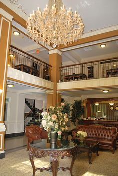Lobby And Front Desk Bothwell Hotel Sedalia Mo By Iluvweknds Via Flickr