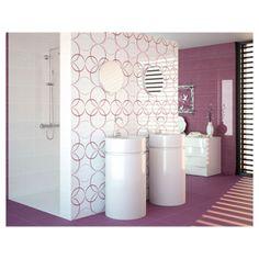 Carrelage Salle de bain : On dit du mauve, violet que c'est une couleur qui apaise, permettant de calmer les angoisses et le stress. Découvrez la collection Dance Malva. Cette couleur Malva va apporter caractère et sobriété à votre salle de bain.