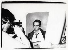 Shaun Cassidy & Andy Warhol.