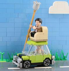 Even in LEGO Mr. Bean travels in comfort http://www.brothers-brick.com/2016/02/10/even-in-lego-mr-bean-travels-in-comfort/