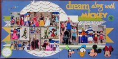 Disney Scrapbook Dream along with Mickey