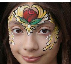 42 Face Paint Beauty And The Beast Ideas Beauty And The Beast Beast Face Painting