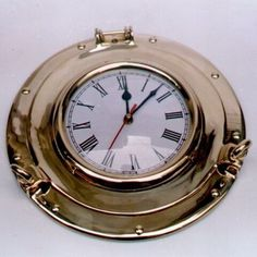 Alarm Clock, Bracelet Watch, Nautical, Home And Garden, Brass, India, Accessories, Ship, Store