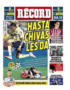 México - RÉCORD 21 julio del 2015