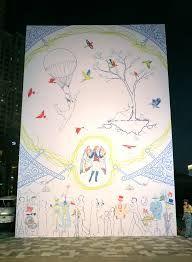 Voyager tpa art mural as part of Dubai Canvas festival, Dubai, United Arab Emirites. Tape Art, Dubai, Street Art, The Unit, Canvas, Frame, Decor, Tela, Picture Frame