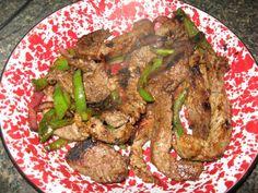 Diabetic Recipes: Mexican Steak and Broccoli Mexican Dishes, Mexican Food Recipes, Steak And Broccoli, Clean Eating, Healthy Eating, Diabetic Friendly, Diabetic Recipes, Skillet, Diabetes