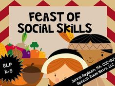 This+social+skills+pack+features+activities+for+Thanksgiving.+For+more+information+and+previews+visit+SpeechRoomNews.blogspot.com.+Social+Problem+Solving+(16+cards)+Each+card+contains+a+social+situation+that+could+take+place+at+Thanksgiving.+Determine+what+you+should+do.
