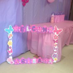 67 Trendy Baby Shower Ideas For Girs Decorations Purple Photo Booths Birthday Party Decorations, Baby Shower Decorations, Birthday Parties, Baby Boy Shower, Baby Shower Gifts, Picture Frames For Parties, Diy Photo Booth, Photo Booths, Fotos Baby Shower