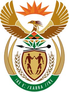 Actual Escudo de Sudáfrica // Wapen van Suid-Afrika (vandag) // New Coat of Arms of South Africa