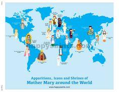 Happy Saints: Happy Saints Mother Mary eBook