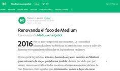 Medium prescindirá de su planilla del equipo que cura contenido en Español #HerramientasWeb #Internet #blogs