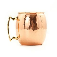 Hammered Moscow Mule Mug Set on Fab.