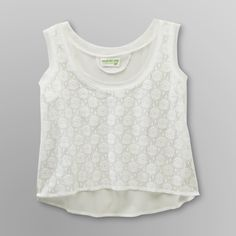Dream Out Loud by Selena GomezJunior's Woven Crop Tank Top