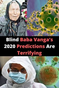 Blind Baba Vanga's 2020 Predictions Are Terrifying Nostradamus Predictions, Baba Vanga, Baby Bottle Holders, End Times Prophecy, Bizarre Photos, Bad Teacher, Vsco Photography, Preschool Class, Brotherly Love