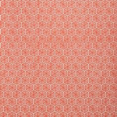 Kikko | Meg Braff Designs | #wallpaper #red
