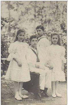 Tsar Ferdinand's children