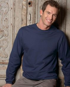 Jerzees 363L 5.6 oz. HiDENSI-T Cotton Long-Sleeve T-Shirt
